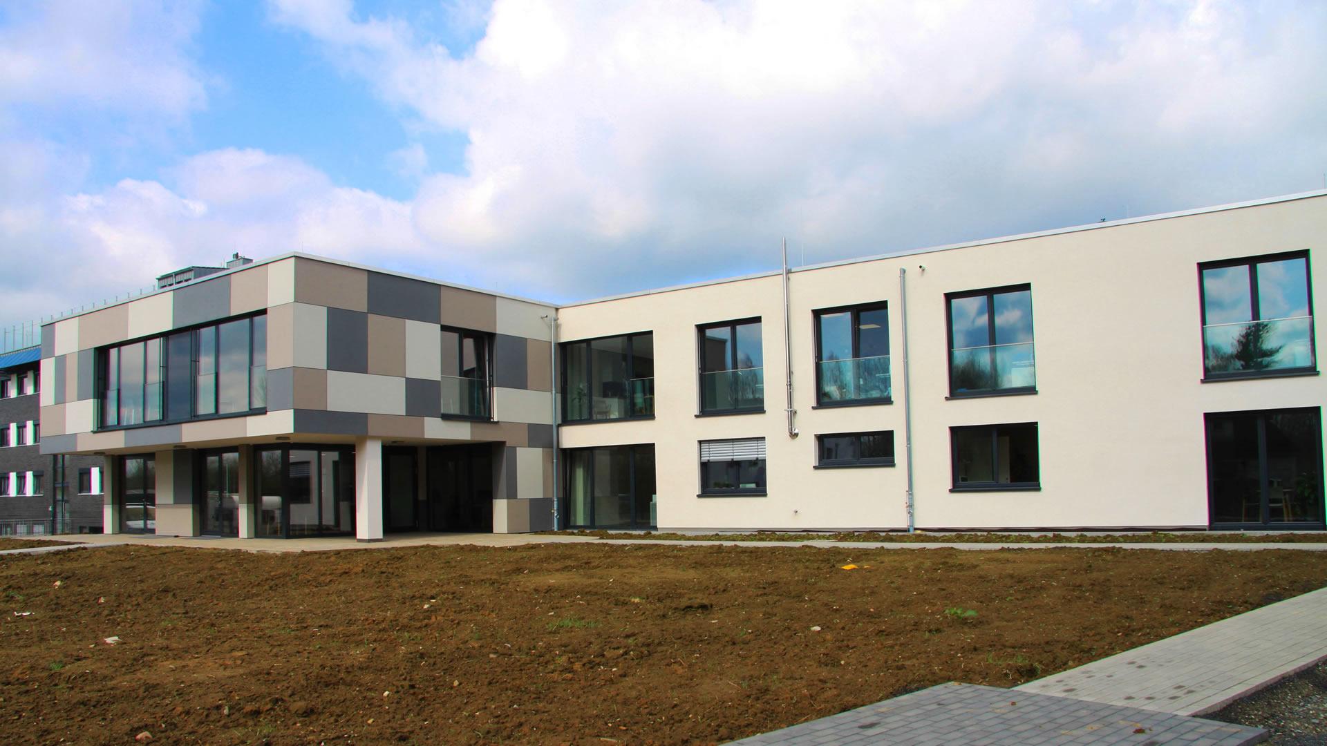 Neubau einer Tagesklinik in Salzkotten | Hagelüken Bauunternehmen